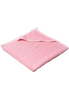 Prosop baie cu gluga, bumbac,roz, 80x100cm