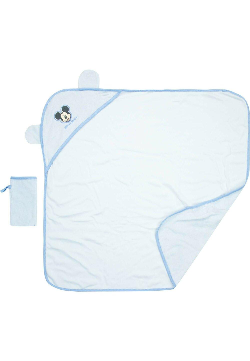 Prosop cu manusa baie, Mickey Mouse, albastru imagine