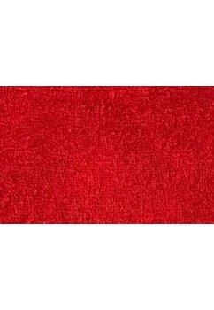 Prosop de baie cu gluga, rosu, 75x75cm