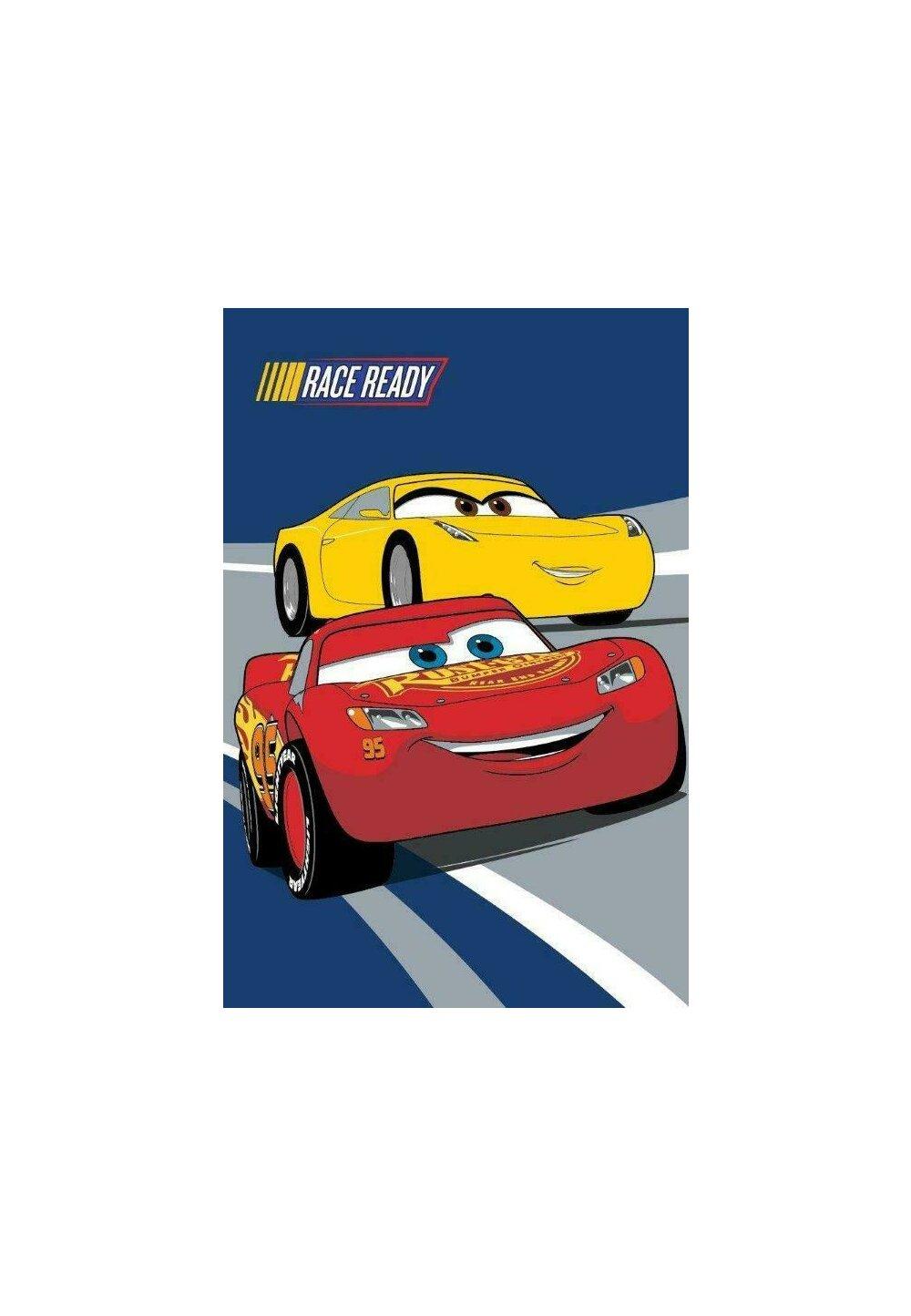 Prosop de maini, Cars, Race ready, 40x60 cm imagine