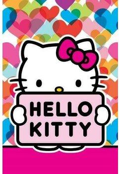 Prosop de maini, Hello Kitty, Cute, 40x60 cm
