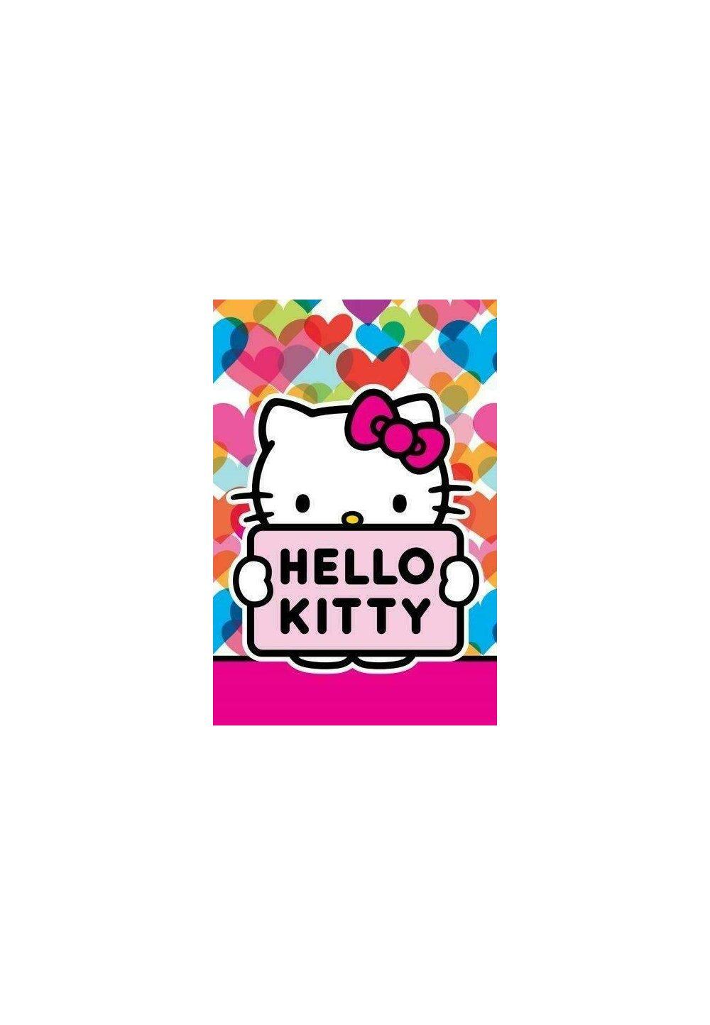 Prosop de maini, Hello Kitty, Cute, 40x60 cm imagine