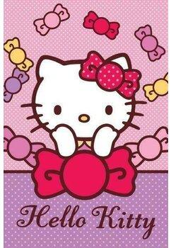 Prosop de maini, Hello Kitty, Pretty, 40x60 cm