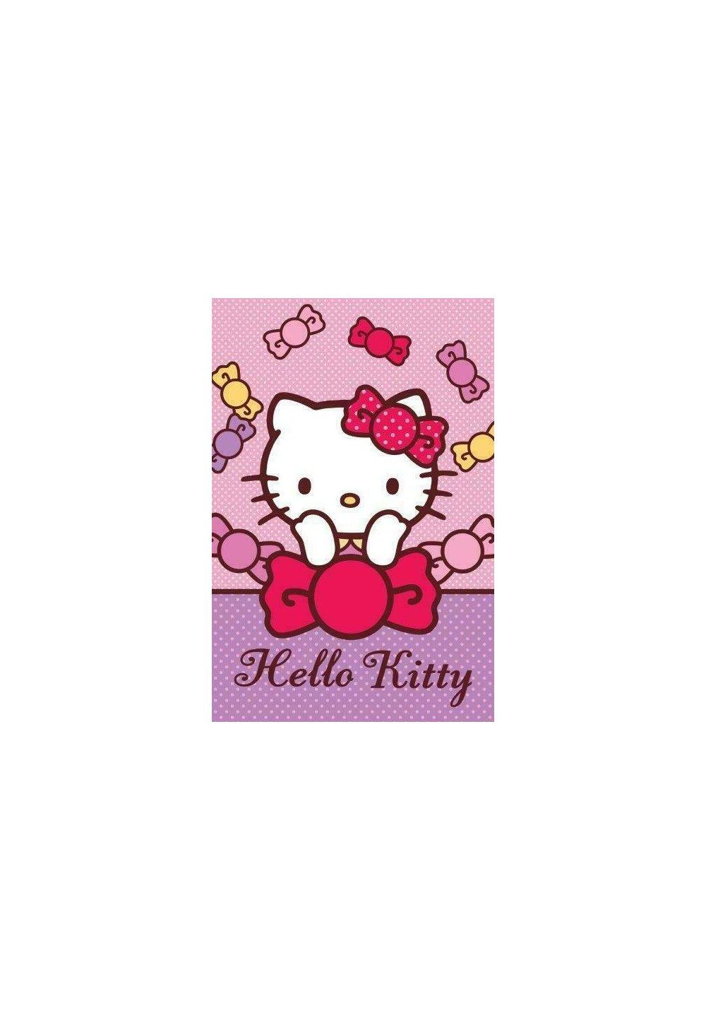 Prosop de maini, Hello Kitty, Pretty, 40x60 cm imagine