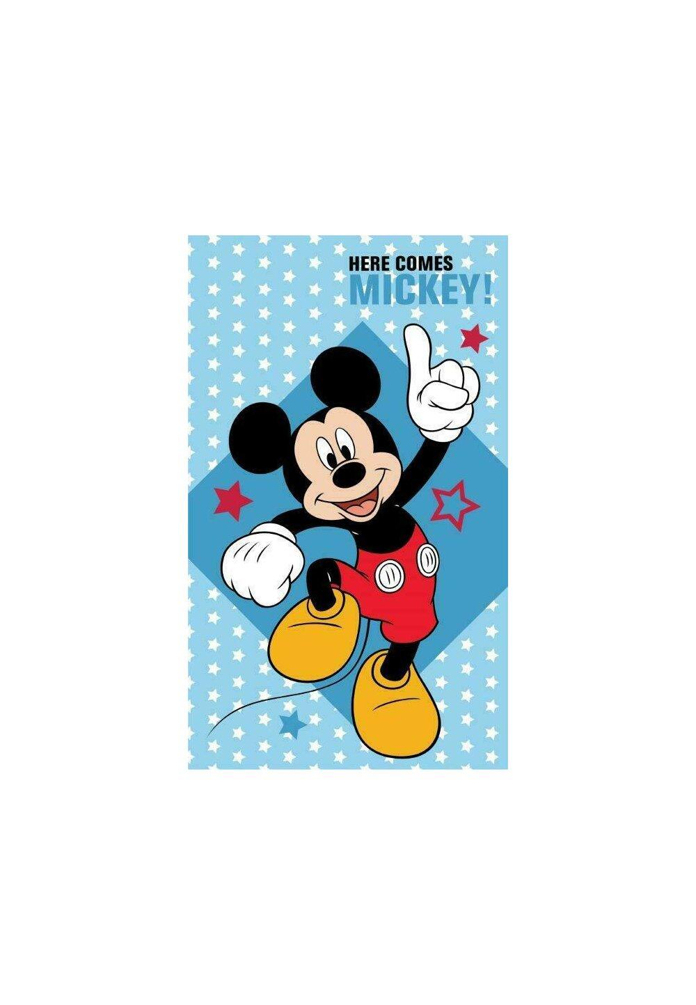 Prosop de maini, Here comes Mickey, 30x50 cm imagine