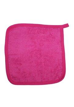 Prosop de maini, roz inchis, 30x30cm