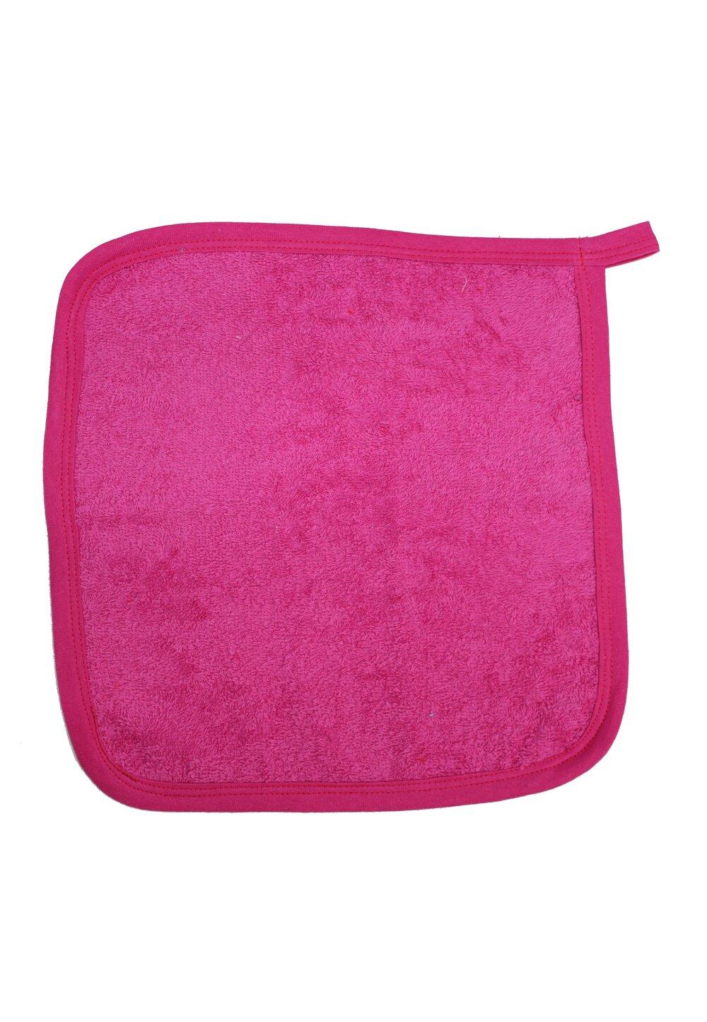 Prosop de maini, roz inchis, 30x30cm imagine