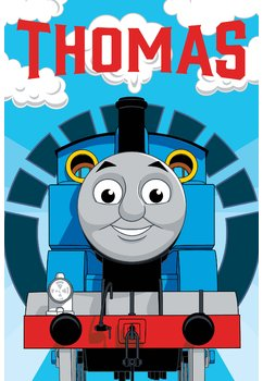 Prosop de maini, Thomas, 40x60cm