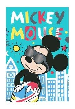 Prosop de maini, turcoaz, Mickey, 40x60cm