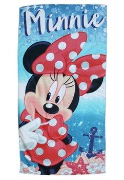 Prosop de plaja, albastru, Minnie Mouse, 70x140cm