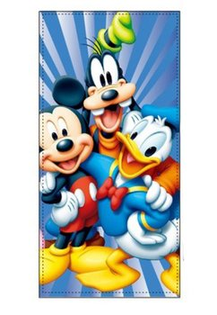 Prosop de plaja, bumbac, Mickey si prietenii, 70x140cm