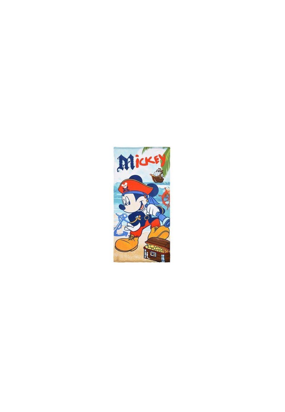Prosop de plaja, piratul Mickey , 70x140cm imagine
