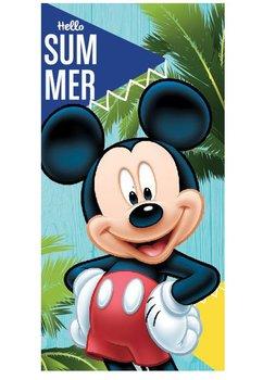 Prosop de plaja, Mickey, Hello summer, 70x140cm