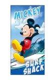 Prosop de plaja, Mickey Mouse, surf shack, albastru