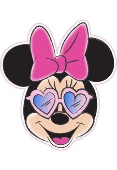 Prosop, Minnie Mouse cu ochelari de soare, 130x112 cm
