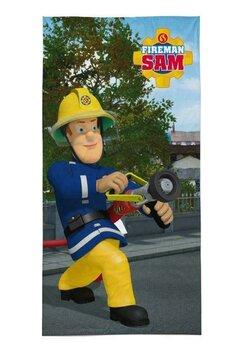 Prosop plaja, Pompierul Sam, Rescue, 70x140 cm
