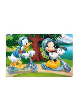Protectie masa, 3D, Mickey cu trotineta