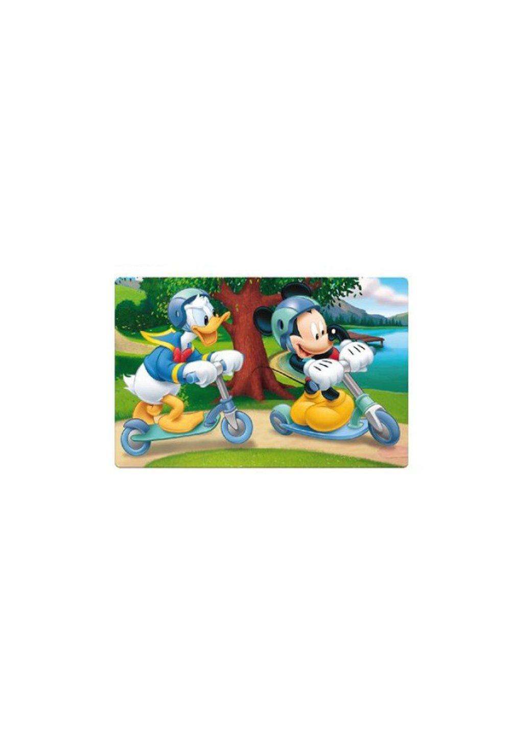 Protectie masa, 3D, Mickey cu trotineta imagine