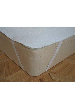 Protectie saltea, impermeabila, alba 120x60cm
