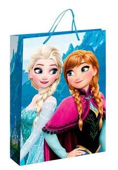 Punga cadou, mare, Anna si Elsa, albastra