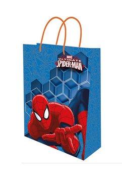 Punga cadou, mica, Spider-Man, albastra