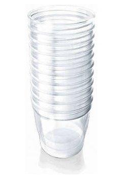 Set 10 Recipiente pentru pastrarea laptelui, 180ml, SCF615/10