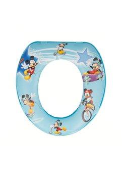 Reductor wc mini, albastru, Mickey Mouse
