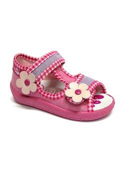 Sandale panza roz fiolet