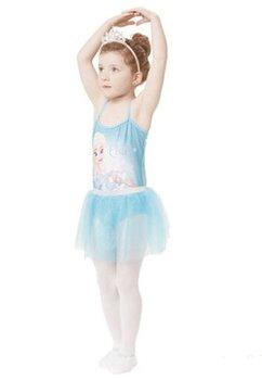 Rochie balet, Frozen, turcoaz