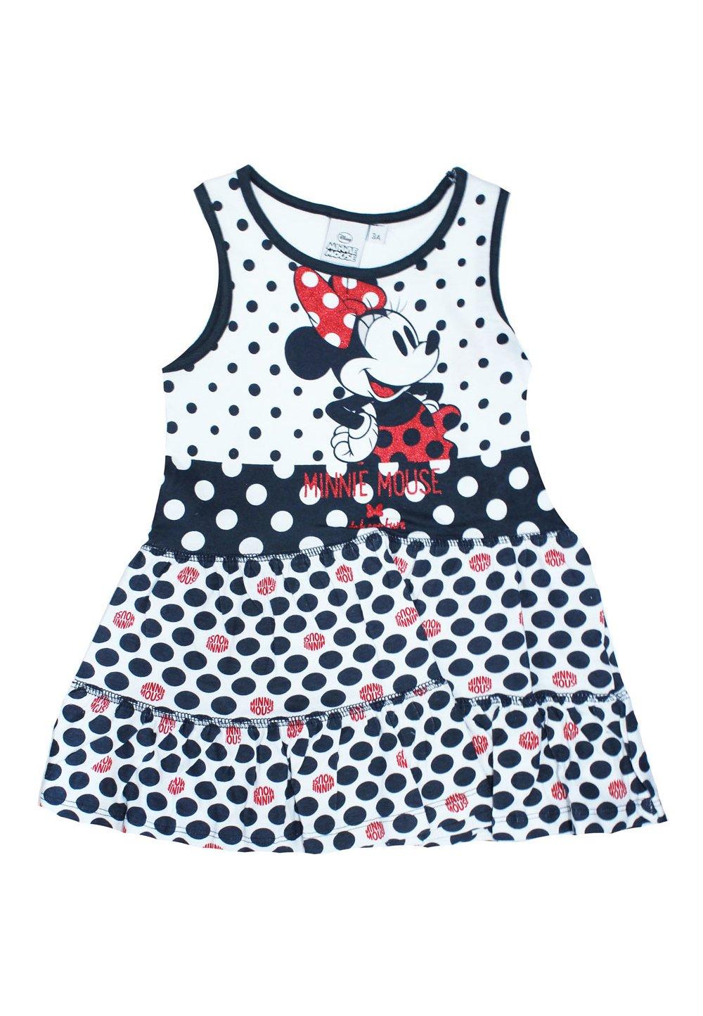 Rochie, bluemarin, cu buline bluemarin, Minnie Mouse imagine
