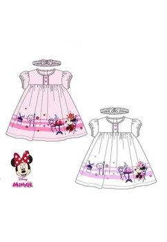 Rochie Minnie Mouse, roz