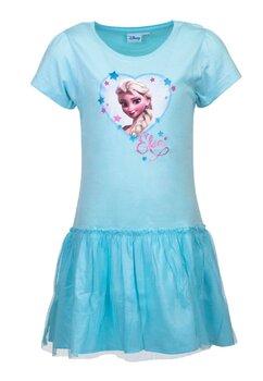 Rochie, Elsa, albastru deschis cu sclipici