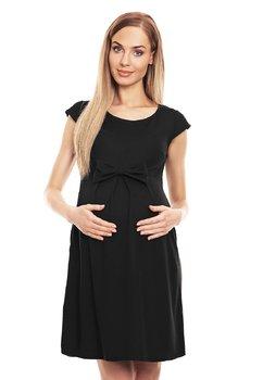 Rochie gravide, neagra cu fundita