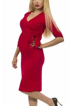 Rochie gravide rosie