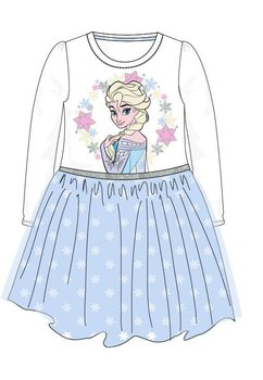 Rochie, maneca lunga, Elsa, albastra