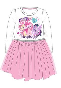 Rochie, maneca lunga, Friendship, roz