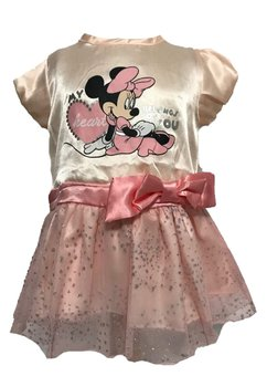Rochie Minnie Mouse, roz, Heart