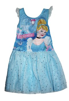 Rochie tutu, Cinderella, albastra