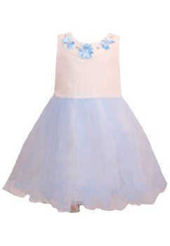 Rochita, cu floricele albastre deschis