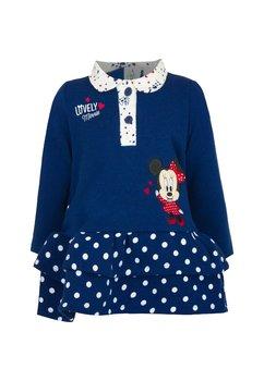 Rochita maneca lunga, Lovely Minnie Mouse, bluemarin