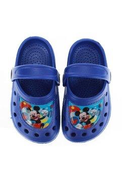 Saboti pentru plaja, M is for Mickey, albastri