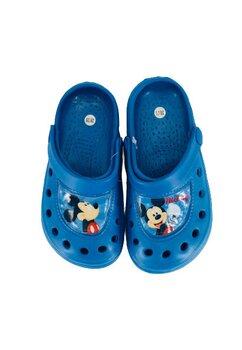 Saboti pentru plaja, Mickey stars, albastri