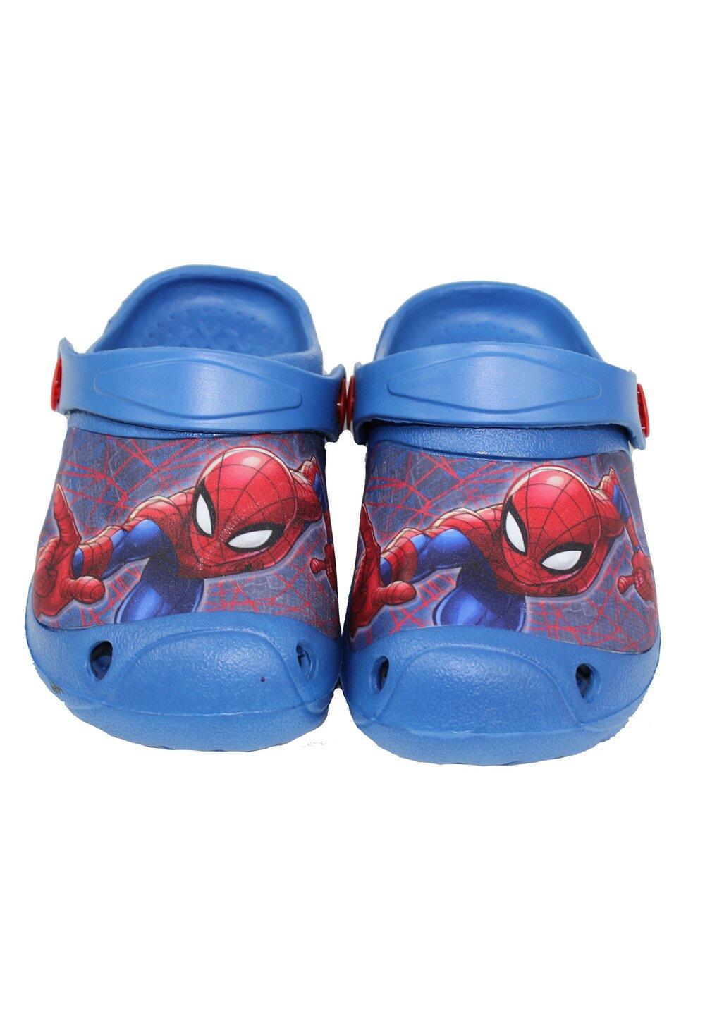 Saboti pentru plaja, Spider Man, bluemarin imagine