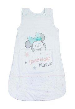 Sac de dormit, iarna, Minnie Good night, alb