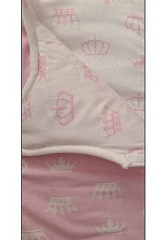 Sac de dormit, iarna, Princess doua fete, roz