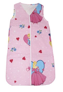Sac de dormit vara Princess roz