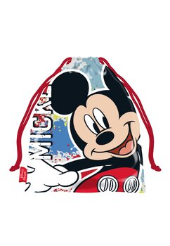 Sac poliester, Mickey Mouse, multicolor,  26 x 21cm