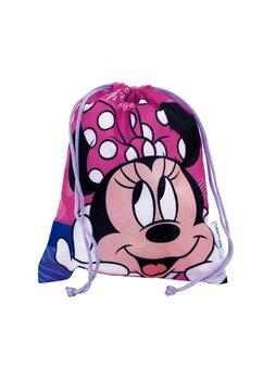 Sac poliester, Minnie Mouse, roz, 26 x 21 cm