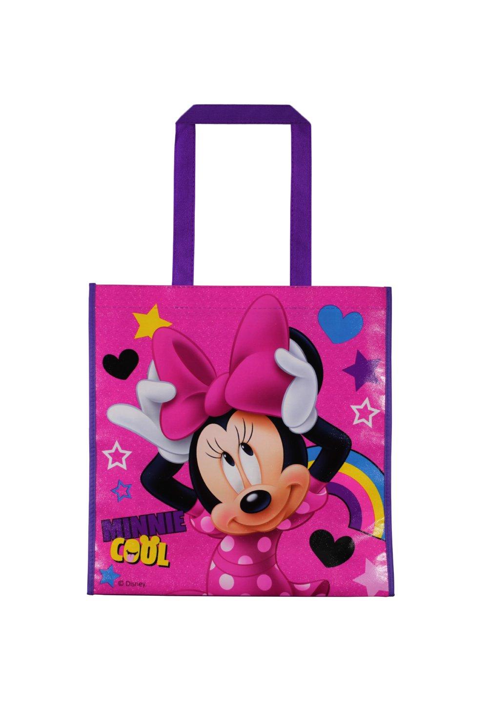 Sacosa cumparaturi, Minnie Mouse, Cool, roz imagine