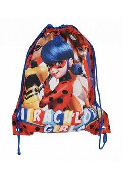 Saculet, Miraculous girls, rosu cu albastru